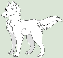 Pixel, Makeable Wolf Base [updated] by Unknown-Artist99