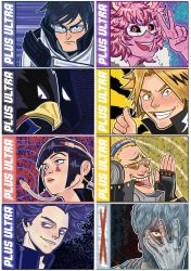 BNHA stickers 2nd batch. by Blueberry-me