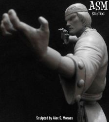 Master of Kung-Fu Mini Bust by ASM-studio