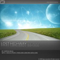 Lost Highway Wallpaper by darpan-aero