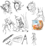 Sketchpage : Faun by Chalybis