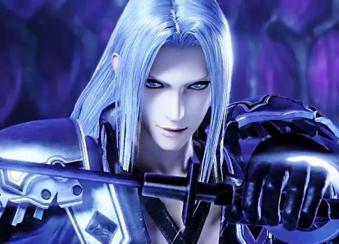 Dissidia NT - Sephiroth default 2 by ray-of-glory