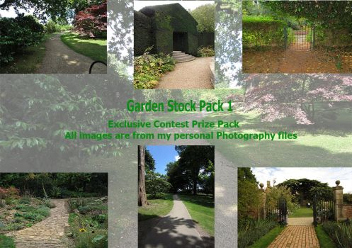 Garden Stock Pack Exclusive contest prize by supersnappz16