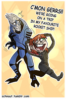 SHERPDERP AND GERRS by DANK-HANK