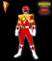 Armored Red Ranger by Yurtigo