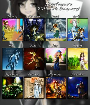 End of 2014 by NinjaTanner