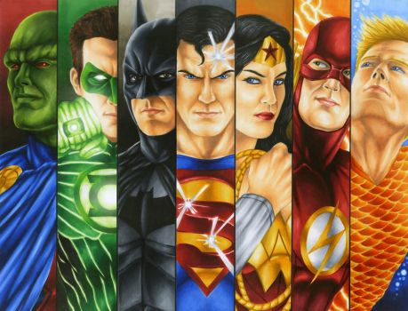 Justice League by smlshin