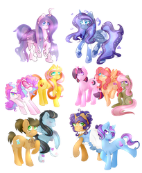 Pony Offspring Compilation by skele-pone