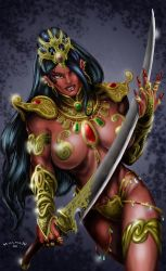 Dejah Thoris by HillmanArts