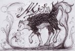 -Breathing Wolf of The Clouds- by devALLjapan