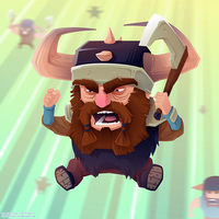 Angry Beards by Dillerkind