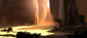 Slot Canyon by Spex84