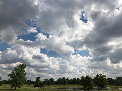 BT GC Clouds Over the Course IMG 1997 by TheStockWarehouse