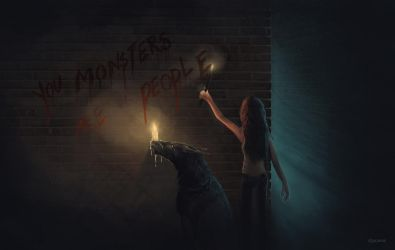 You Monsters by jacamat