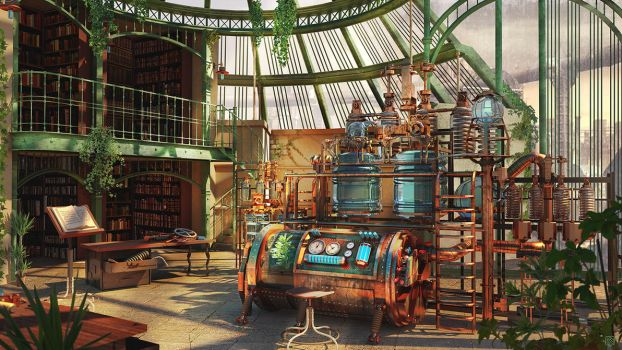 The Alchemist Laboratory by Kashuse