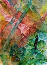 World Watercolor Month #30 - Exotic Location by Kizzy-i-Keinstein