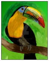 Toucan Portrait by 9-Silver-Shadow-2