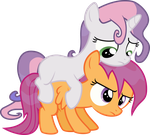 Sweetie Scoots by Comeha