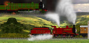 ''So they brought the other engine up...'' by Nictrain123