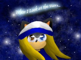 When I look at the stars... by Candy-Ice