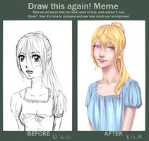 Draw This Again by luciferousLimner