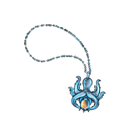 Octopi Necklace by BlackBloodWolf18