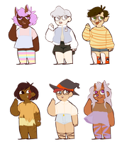 Monster adopts (open) by MrinyuAdopts