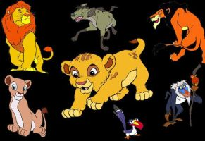 Lion King Background by Busted-Love