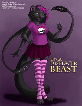 [Mythological May] Day 20 - Displacer Beast by Ulario