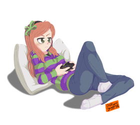 Vivian James by OSuKaRuArT