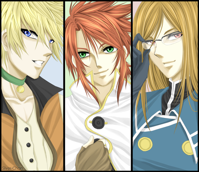 Tales of the Abyss - MALES by LightSilverstar