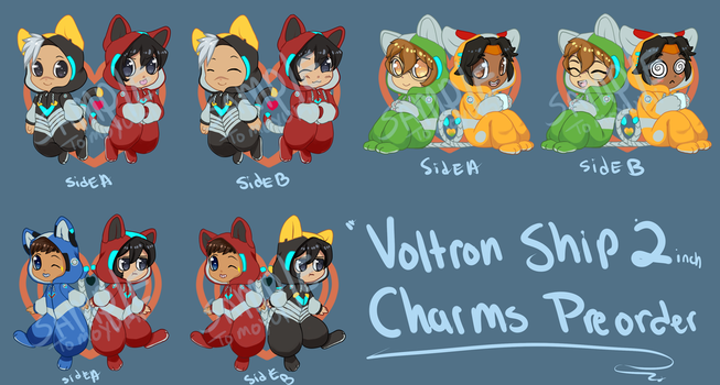 Preorder: Voltron Ships! by TomoCreations