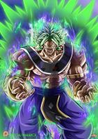 Broly God Of Destruction by Maniaxoi