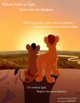 Light and Shadow - Comic Teaser Poster by Nala15