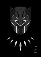 Black-Panther-2018 by thelivingethan