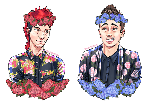 Flower Crowns by PoweredByCokeZero