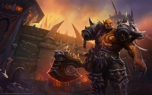 Garrosh, Son of Hellscream by Mr--Jack