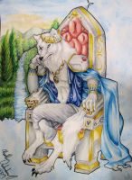 The Wolf King by forensicfox