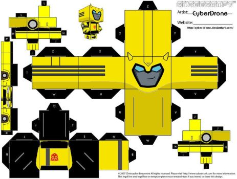 Cubee - Bumblebee 'Animated' by CyberDrone