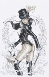 Zatanna Copics by Dawn-McTeigue