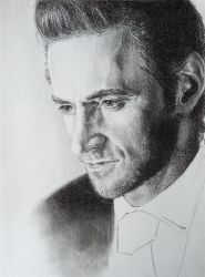 Richard Armitage by GrayscaleArt