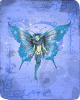 butterfly faery by clv