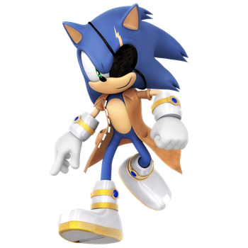 Future Sonic Render by Nibroc-Rock
