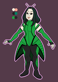 Mantis Ref by stitcheduptogether