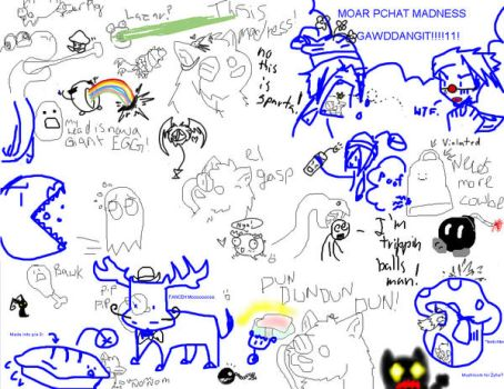 Randomness of a paint-chat by Killer-Beast