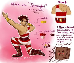 Mark the Strongman: {Revamped!}_YT!Carnival by MochiiBunnii
