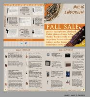 Music Store Ad, Set 1 by kfairbanks