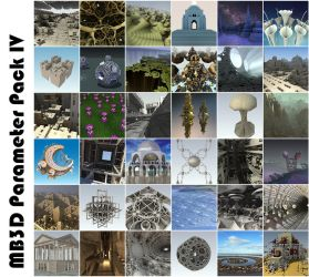 MB3D Parameter Pack IV by elminino