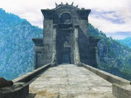 The Gate background stock by ED-resources