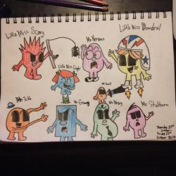 Another The Mr Men drawing by Riyana2